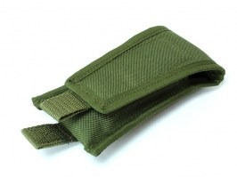 Pistol magazine or knife pocket - OD [AS-Tex]