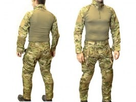 Tactical suit set MC with pads [EmersonGear]