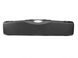 Rifle Hard Case (121,5 x 24 x 10cm) - black (1643-SEC) [Negrini]