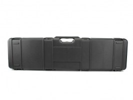 Rifle Hard Case (117,5 x 29 x 12cm) - black (1640C-ISY) [Negrini]
