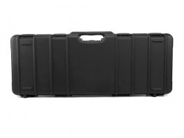 Rifle Hard Case (90 x 33 x 10,5cm) - black (1690-ISY) [Negrini]