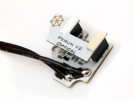 Processor trigger unit PERUN Optical V2 - rear wiring [Perun]