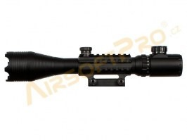 RAIL scope 4-16x50EG with sun shield [A.C.M.]