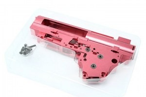 CNC reinforced QD gearbox shell V3 with 8mm ball bearing [Shooter]