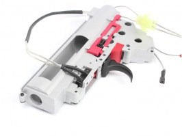 AK QD spring gearbox frame with microswitch + many parts [Shooter]