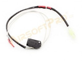 Microswitch for Shooter V2 gearboxes with cables - front [Shooter]