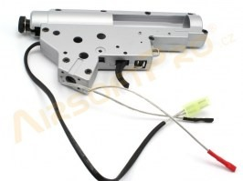 Reinforced QD gearbox shell V2 with spring guide and microswitch - back wiring [Shooter]