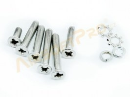 Spare screws for gearbox V3 - stainless steel [Shooter]