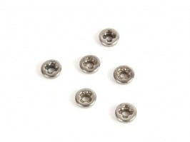 7mm cross slot bushings - steel [SHS]