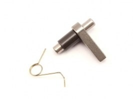 Antireversal latch with the spring [SHS]