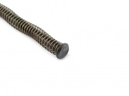 Enhanced recoil spring with guide for WE Glock G17, 18, 34, 35 - black