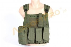 Plate carrier harness vest - olive [A.C.M.]