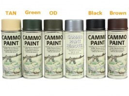 Cammo paint - Dark brown (RAL 8027) [Glomex]