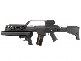 G316KV with Grenade Launcher , EBB , black [S&T]