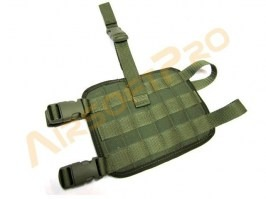 MOLLE leg base - green [AS-Tex]