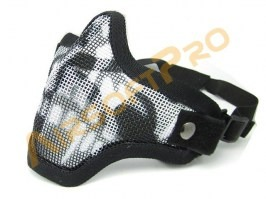 Face protecting STRIKE mask with mesh - skull [EmersonGear]