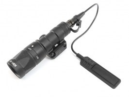 M300V LED Tactical Flashlight with the RIS gun mount - black [Target One]