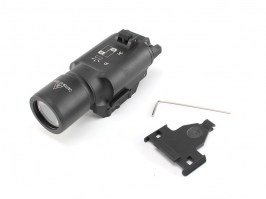 X300 LED Tactical Flashlight with the RIS gun mount - black [Target One]