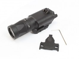 X300-V LED Tactical Flashlight with the RIS gun mount - black [Target One]