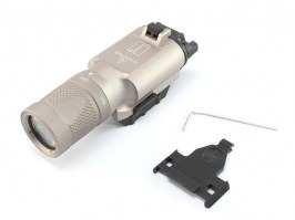 X300-V LED Tactical Flashlight with the RIS gun mount - DE [Target One]