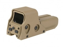 TO552 Red Dot Sight Replica - TAN [Theta Optics]