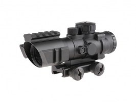 Rhino 4X32 Scope with the RIS mounts [Theta Optics]