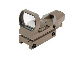 Open Reflex Sight Replica THO-201 - TAN [Theta Optics]