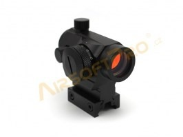 Compact II Reflex Sight Replica with the high mount - Black [Theta Optics]