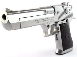 Airsoft pistol Desert Eagle 50AE Silver, electric blowback (EBB) [Tokyo Marui]