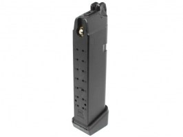 Gas 25 rounds magazine for Tokyo Marui and WE G17/18C/26 Custom [Tokyo Marui]