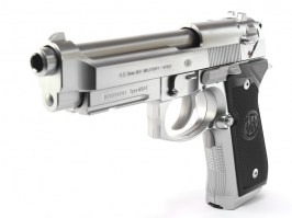 Airsoft pistol FULL AUTO M9A1 silver, electric blowback (EBB) [Tokyo Marui]
