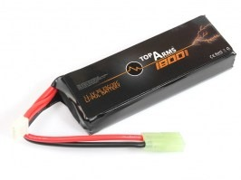 Battery Li-Po 11,1V 1800mAh 25/35C - Mini Block [TopArms]