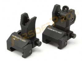 TR front & rear folding battlesight [A.C.M.]