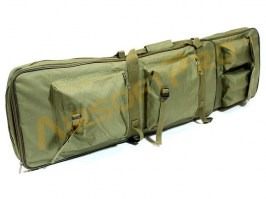 Twin assault rifle carrying bag - 60 and 100cm - olive [UFC]