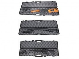 Plastic rifle hard case 120cm - black [UFC]