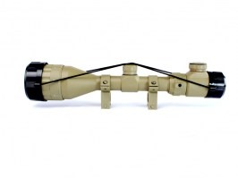 3-9x50 AOEG Illuminated scope - TAN [UFC]