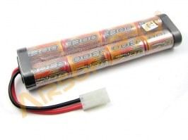 NiMH Battery 9,6V 3300mAh - Large block [VB Power]