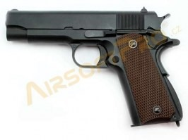 "Airsoft pistol 1943 A1 4.3"" - gas blowback, full metal, 2 magazines [WE]"