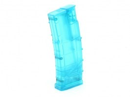 Airsoft 450 rds M4 mag style speed Loader - blue [6mm Proshop]
