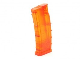 Airsoft 450 rds M4 mag style speed Loader - orange [6mm Proshop]