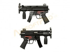 Airsoft rifle Apache-K SMG GBB - full metal, blowback [WE]