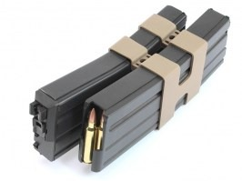 Double gas magazine for WE M4, SCAR, L85 - open bolt [WE]