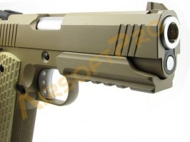 Airsoft pistol Desert Warrior 4.3 OPS, fullmetal, blowback [WE]