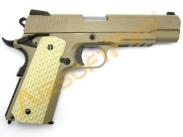 Airsoft pistol Kimber Desert Warrior 5.1 , fullmetal, blowback [WE]