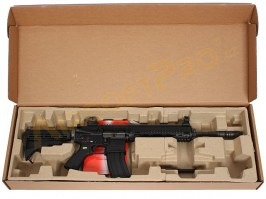 Airsoft rifle 4168 GBB - full metal, blowback, black [WE]
