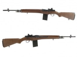 Airsoft rifle M14 GBB - brown - full metal, blowback [WE]