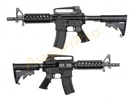 Airsoft rifle M4 CQBR GBB, full metal, blowback, black [WE]