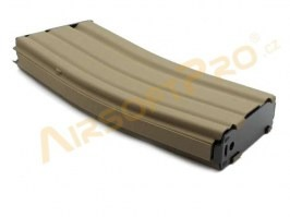 Gas magazine for WE M4, SCAR, L85 - open bolt, TAN [WE]