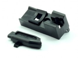 Open Bolt Magazine BB rider and BB muzzle [WE]