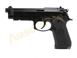Airsoft pistol M9 A1 Gen 2, black, fullmetal, blowback [WE]